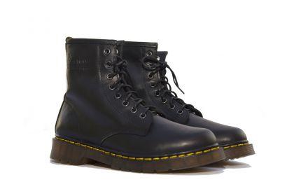 Giày da dr martens boot nam cổ cao 1460 thái lan màu đen