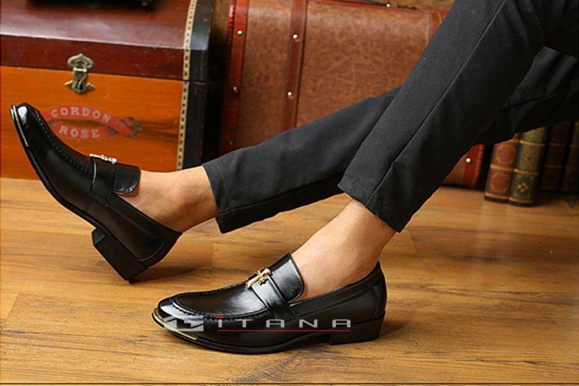 Giày da nam đen và những phong cách phối đồ phù hợp nhất
