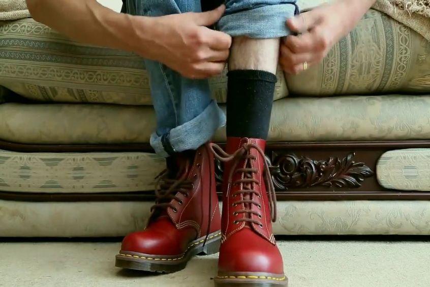 Giày doctor nam | lựa chọn phong cách của mọi anh chàng