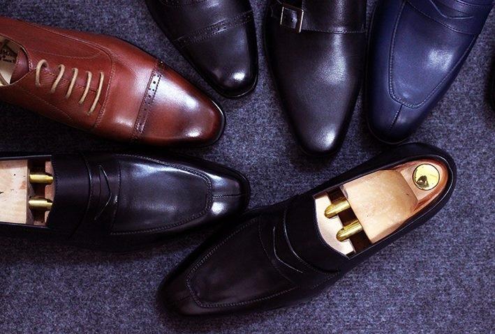 Đôi giày da nam sang trọng