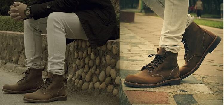 Gitana luôn có mẫu giày cao cổ chất
