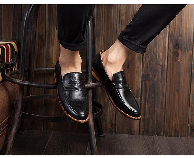 Mẫu giày tây nam kiểu hàn quốc đẹp