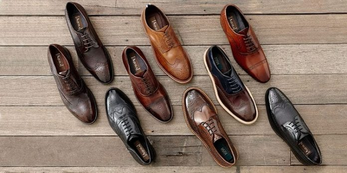 Sản phẩm giày da nam độc đáo