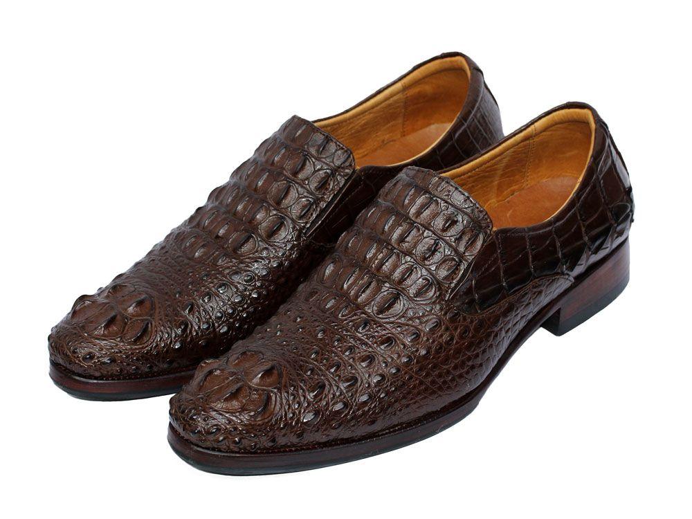 Giày da cá sấu nam cao cấp